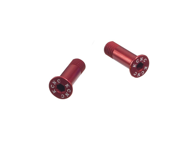 KCNC Jockey Wheel Schrauben für Schalträdchen rot
